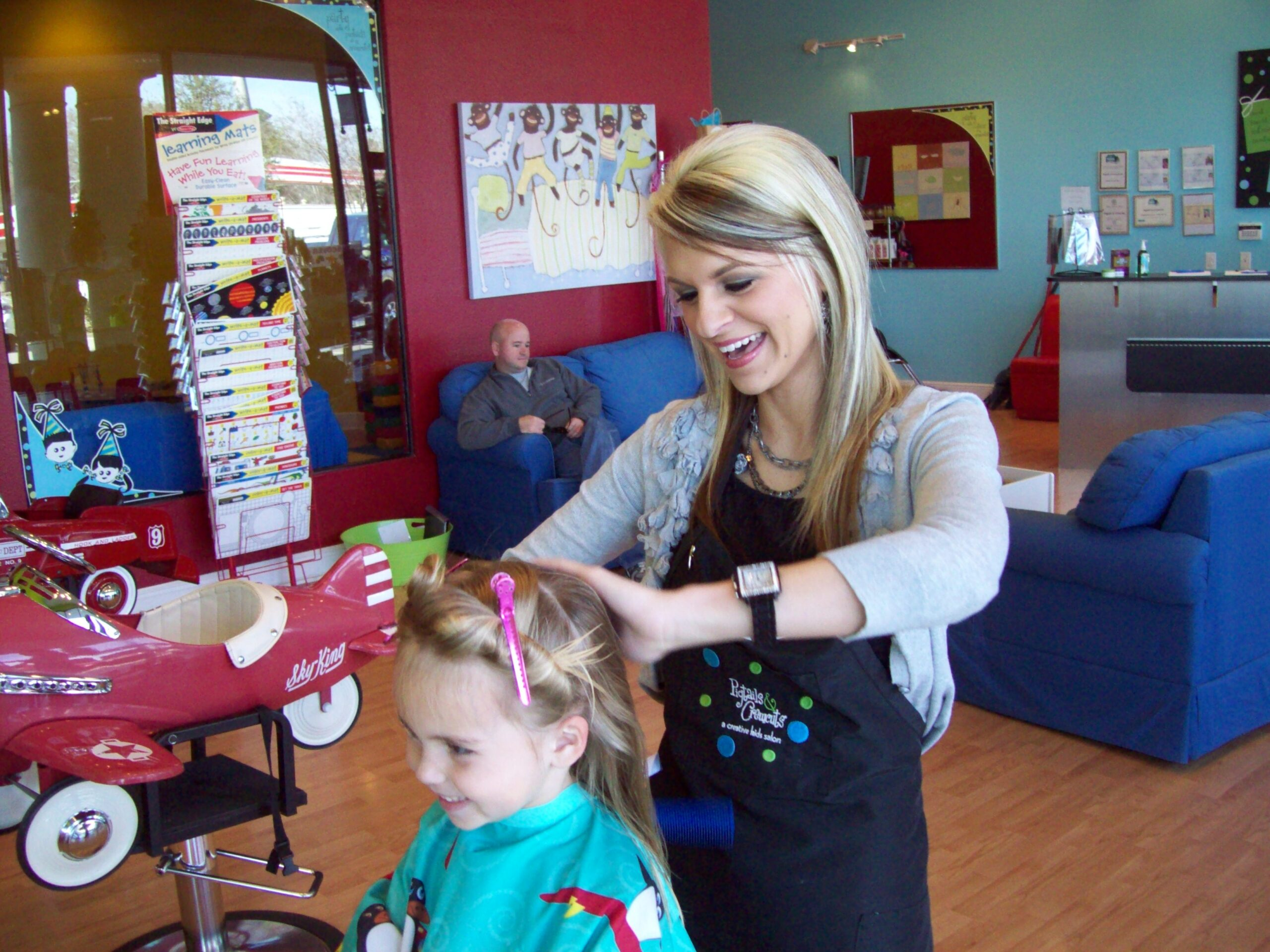 Helping Tips for Kids Who Hate Haircuts with HairStylist