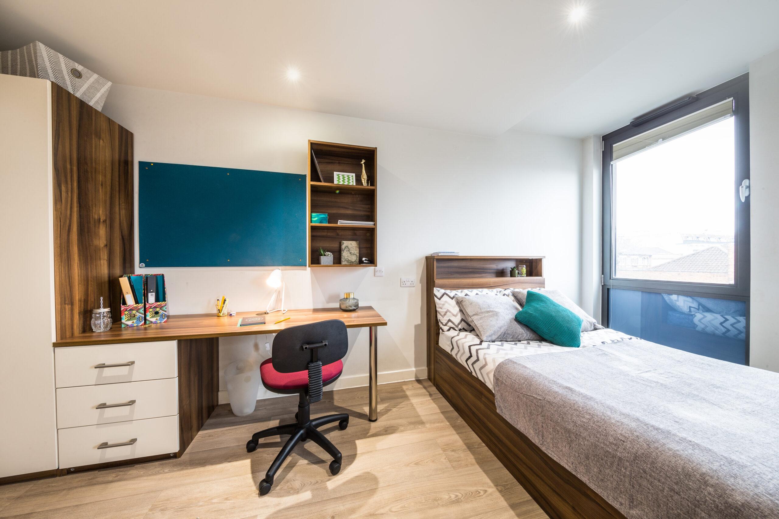student accomodation room