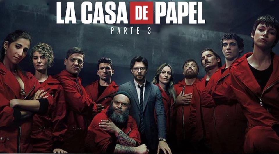 Money Heist Season 3 torrent