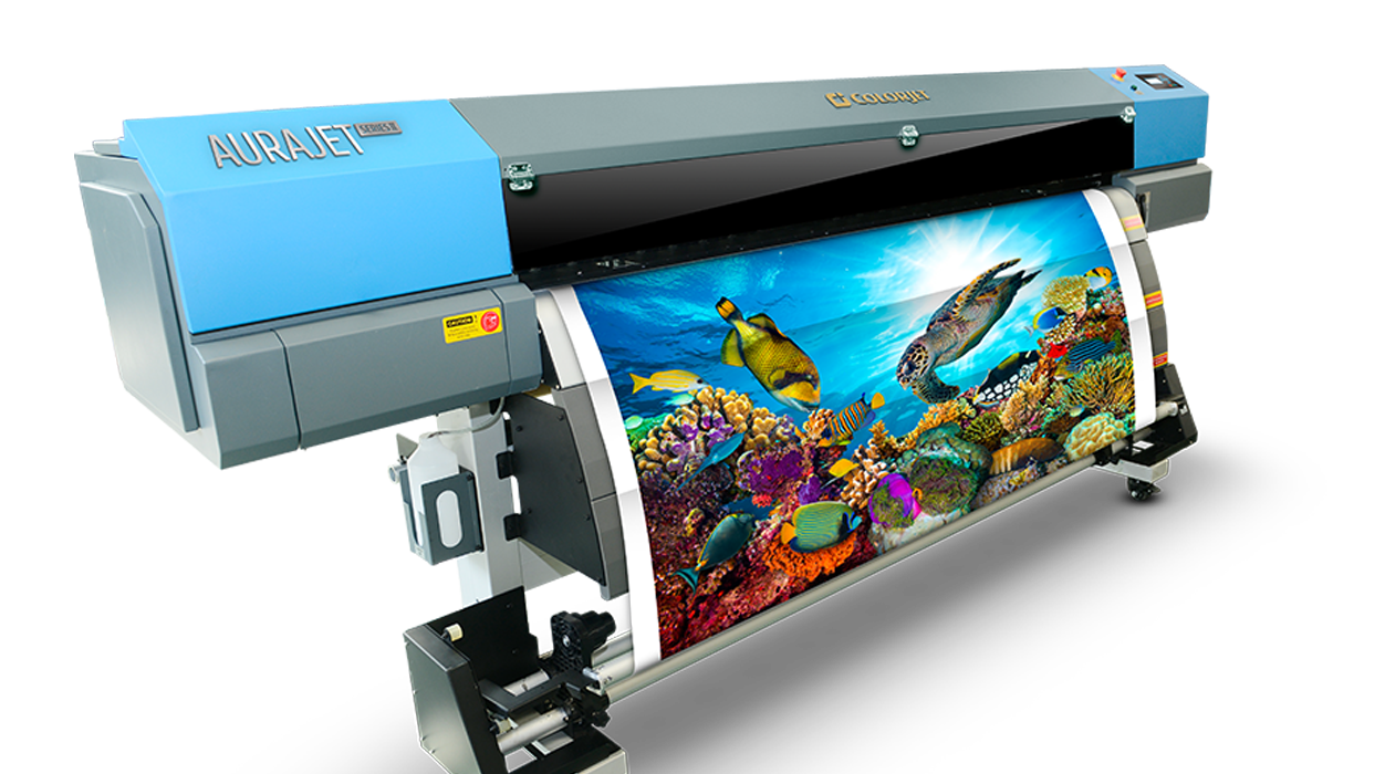 Vinyl Sticker printing machine