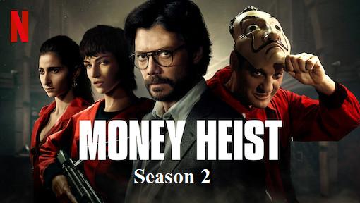 Index of Money Heist | Index of Money Heist season 2