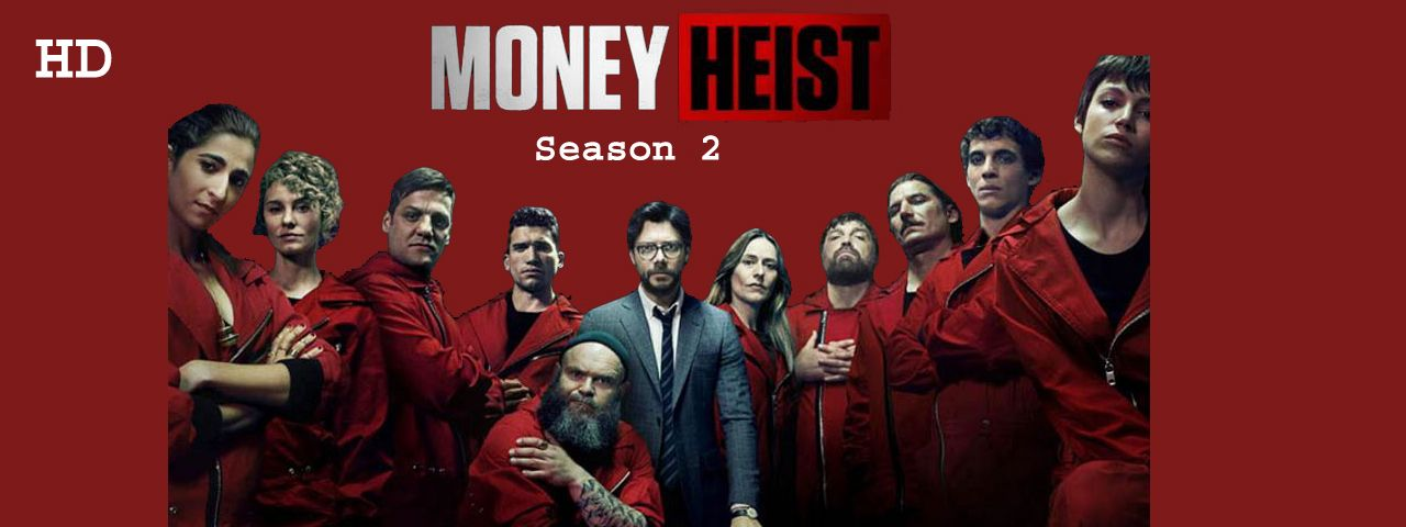 money heist season 2