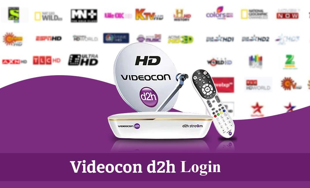 Videocon d2h Login | Videocon d2h Recharge Login