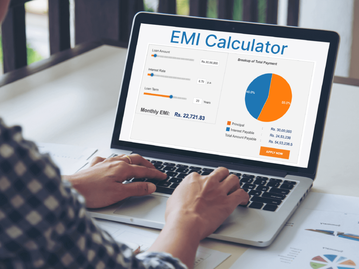 How does an emi calculator help in planning personal loan repayment