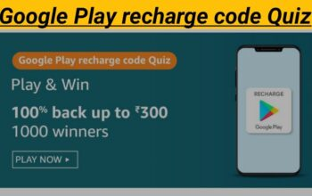 Google Play Recharge code on Amazon offers you to purchase for any amount upto _______